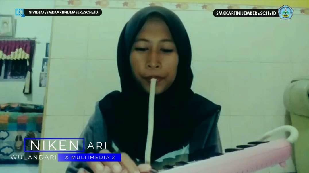 Niken Ari Wulandari - Mars SMK Kartini Jember (Pianika Version)